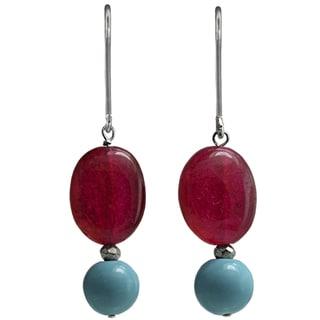 Susen Foster Silverplated Joy Turquoise And Carnelian