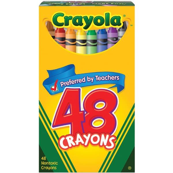 Crayola Crayons Pack Of 48 14819546 Overstock Com
