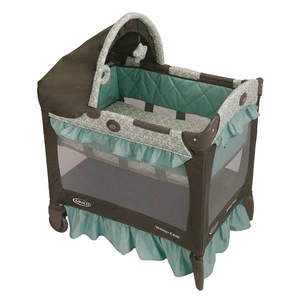 Graco Travel Lite Crib In Winslet 14838084 Overstock