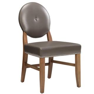 Sunpan Club Savoy Grey Nobility Dining Chair Overstock