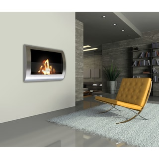 Wall Mounted Indoor Fireplaces Overstock Shopping The