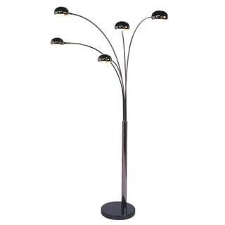 Tribecca Home Modern Chrome Metal Arch Lamp 13828800