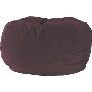 Fufsack 5 Foot King Memory Foam Microfiber Bean Bag Chair
