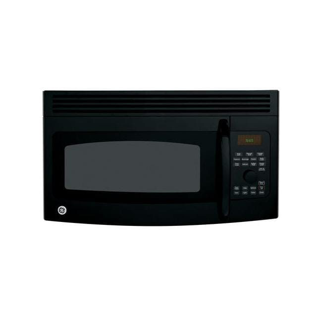 GE Profile Spacemaker JVM1665DNBB Black 1.6-cu-ft Over-the