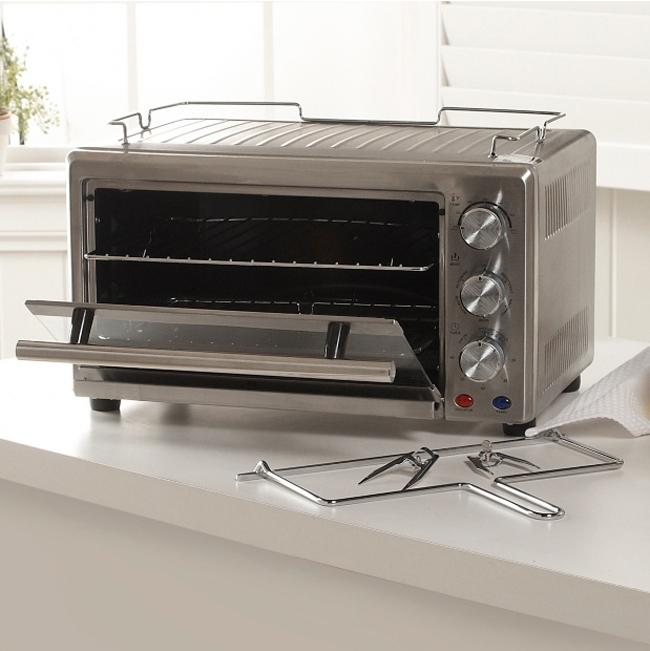 Wolfgang Puck 22 Liter Heavy Duty Convection Toaster Oven With Rotisserie Refurbished 13483921 Overstock Com Shopping Great Deals On