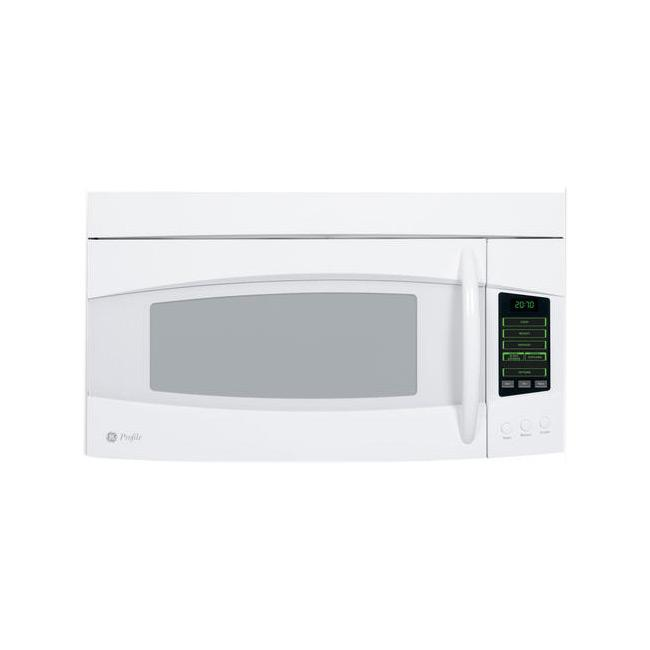 GE Profile PVM2070DMWW White Spacemaker 2-cu-ft Over-the