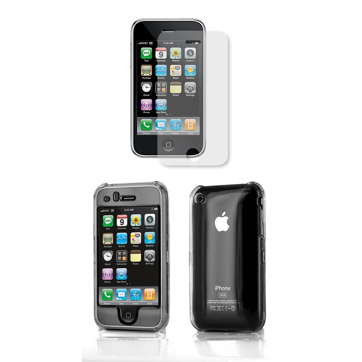 Apple iPhone 3rd Generation Protector Case with Screen ...