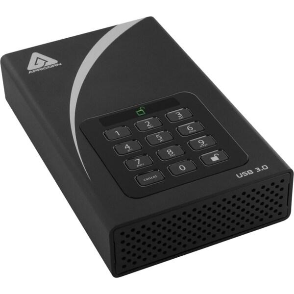 Apricorn Aegis Padlock Adt3pl2561000 1 Tb 35quot External Hard Drive image