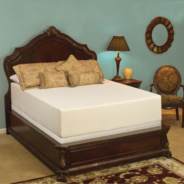 Select Luxury Medium Firm 14-inch Queen-size Memory Foam ...