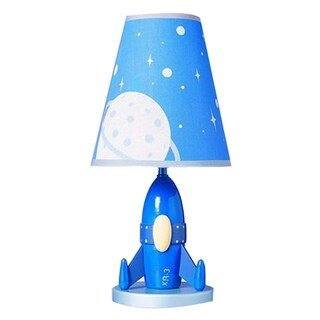 Cal Lighting Kids Rocket Ship Table Lamp 14916344