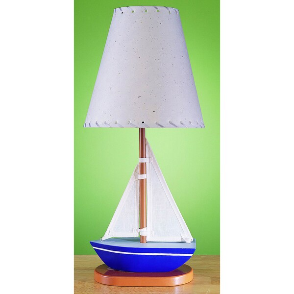 Cal Lighting Kids Sailboat Table Lamp Overstock Shopping