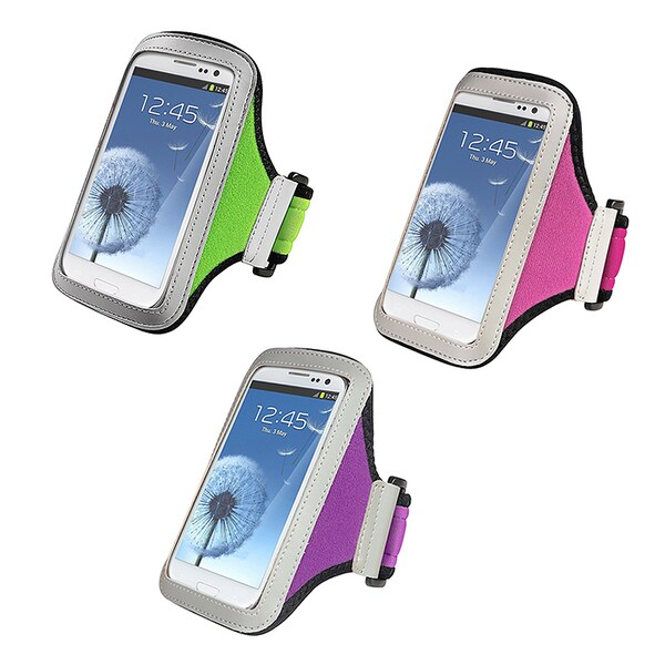 Insten Hot Pink Armband For Samsung Galaxy S Iii S3 image