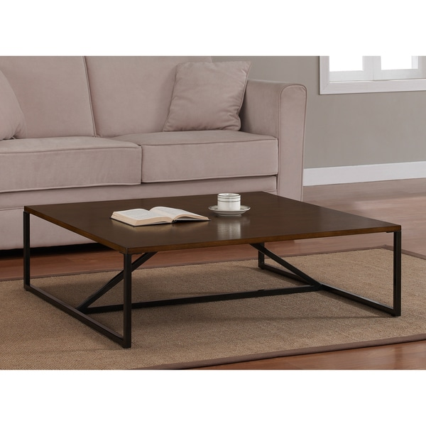 School House Square Strut Coffee Table