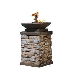 Uniflame Ceramic Tile Lp Gas Firepit 15257421