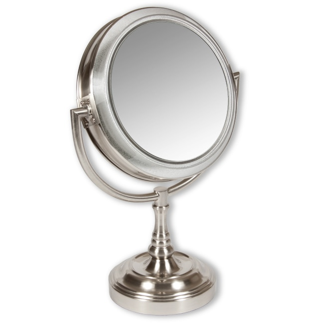 Rialto Lighted 10x 1x Two Sided Vanity Mirror Overstock