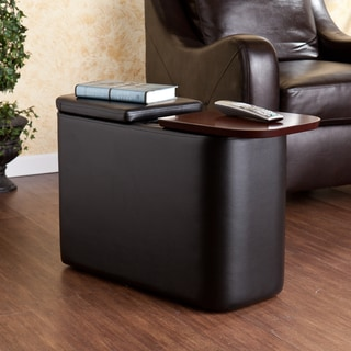 Furniture Of America Enzo Modern Black Tinted Tempered