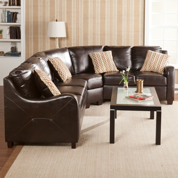 Harper Blvd Claymore Chocolate 3 Peice Sectional