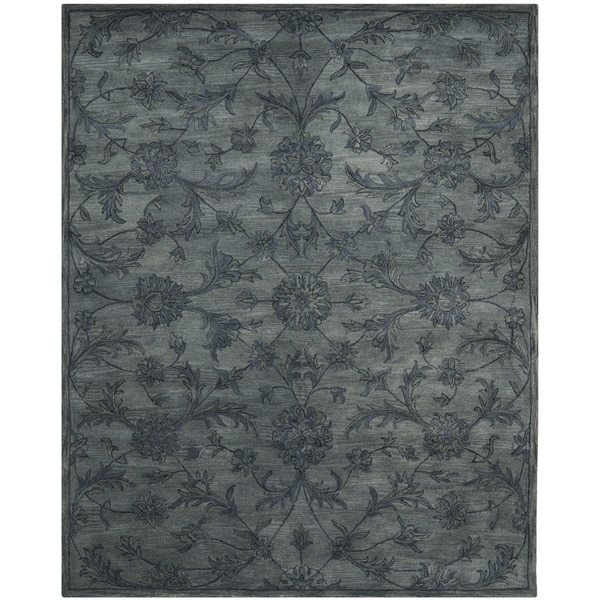 Safavieh Handmade Antiquities Grey Wool Rug 14946452