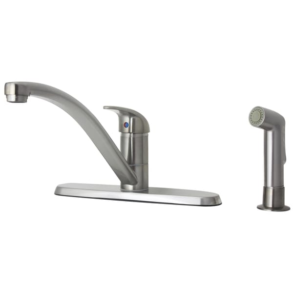 Kitchen Faucet Cost: Price Pfister Parisa Single-handle Stainless Steel Kitchen