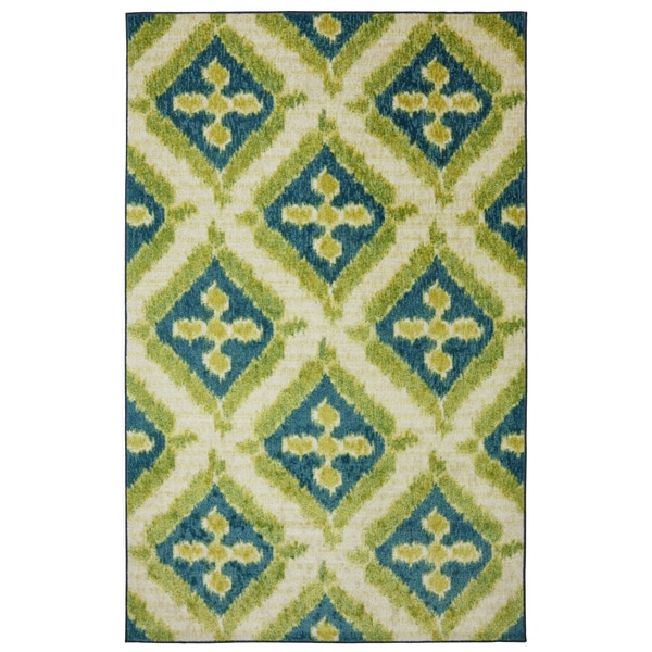 Mohawk Home Becker Turquoise Area Rug 14958080
