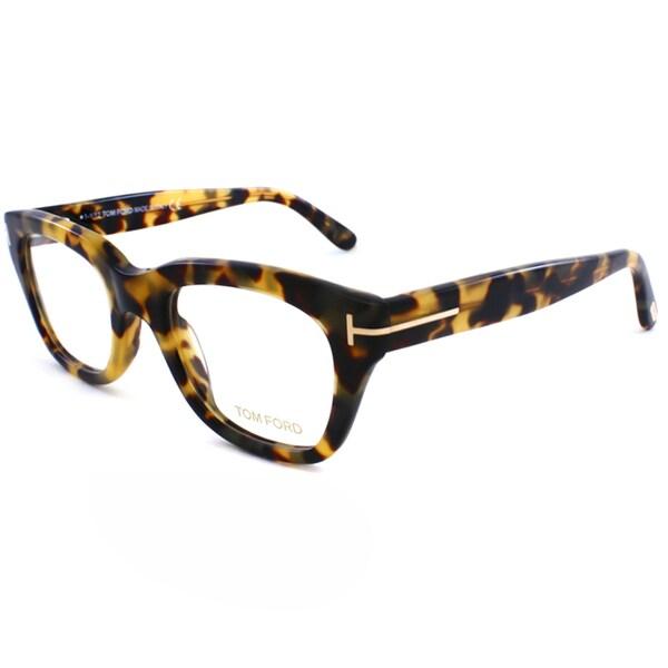 a156cf13fc6 Tom Ford Unisex Vintage Tortoise Plastic Eyeglasses - 14961598 - www. lesbauxdeprovence.com Shopping