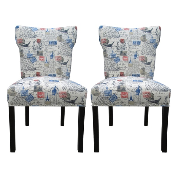 Bella Amore Upholstered Dining Chairs (Set Of 2