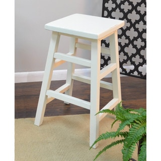 White Wood Bar Stools Overstock Shopping The Best