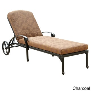 Marvelous Sale Floral Blossom Chaise Lounge Chair With Cushion Squirreltailoven Fun Painted Chair Ideas Images Squirreltailovenorg