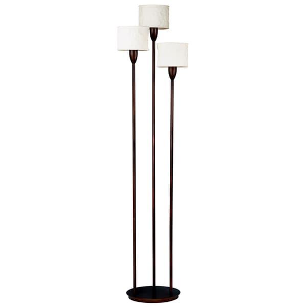 Gorham Torchiere 3-light Floor Lamp