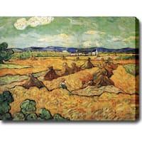 Vincent van Gogh 'The Wheat Field' Oil on Canvas Art