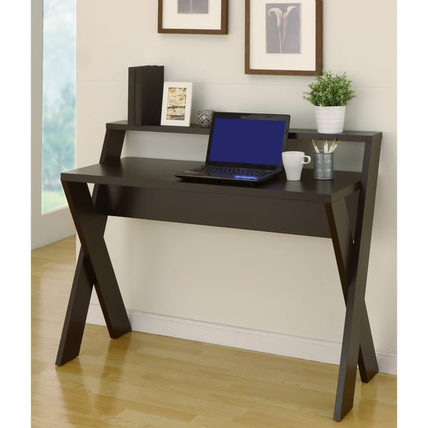 Overstock Office Furniture: Furniture Of America Intersecting Home Office Desk