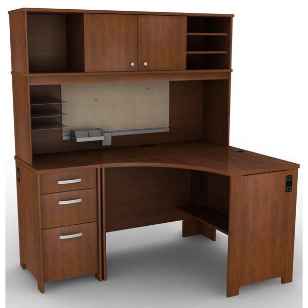 Sites Like Overstock For Furniture: Bush Furniture Envoy Collection Corner Desk Suite