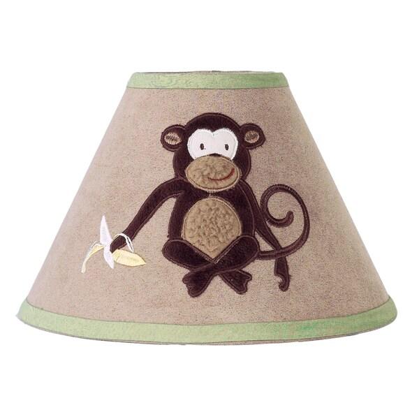 Sweet Jojo Designs Brown Monkey Lamp Shade 15024093