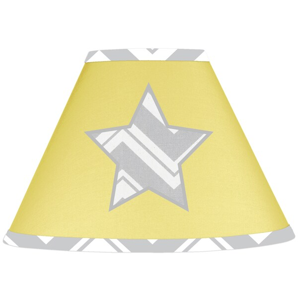 Sweet Jojo Designs Yellow Star Lamp Shade 15024264