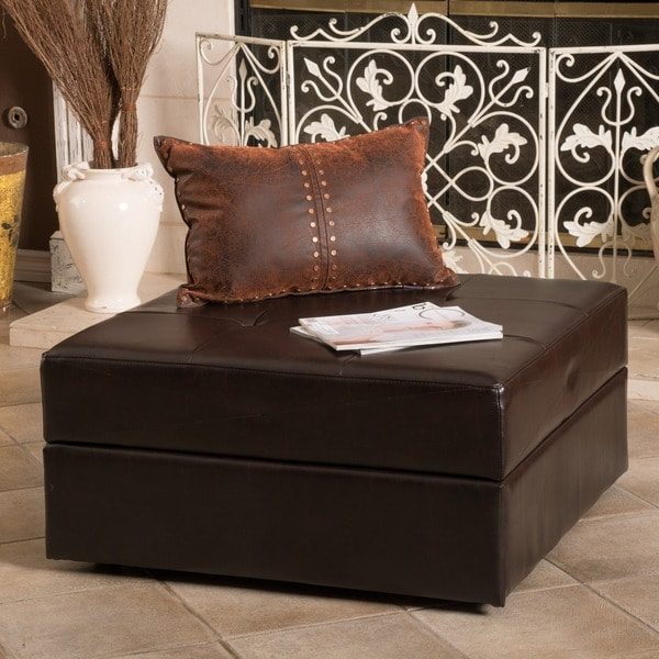 Christopher Knight Home Burlington Brown Bonded Leather