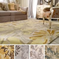 Hand-tufted Putty Wrigley Wool Area Rug (7'6 x 9'6) - 7'6 x 9'6
