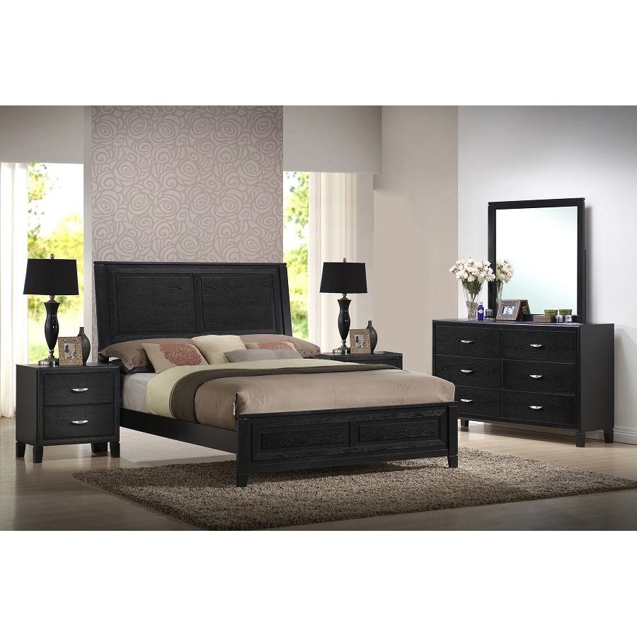 Modern Discount Bedroom Furniture: Eaton King 5-piece Wooden Modern Bedroom Set