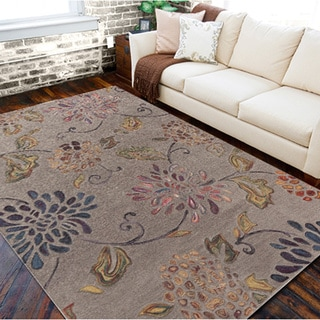 Counterfeit Studio Grey Floral Hand Tufted New Zealand