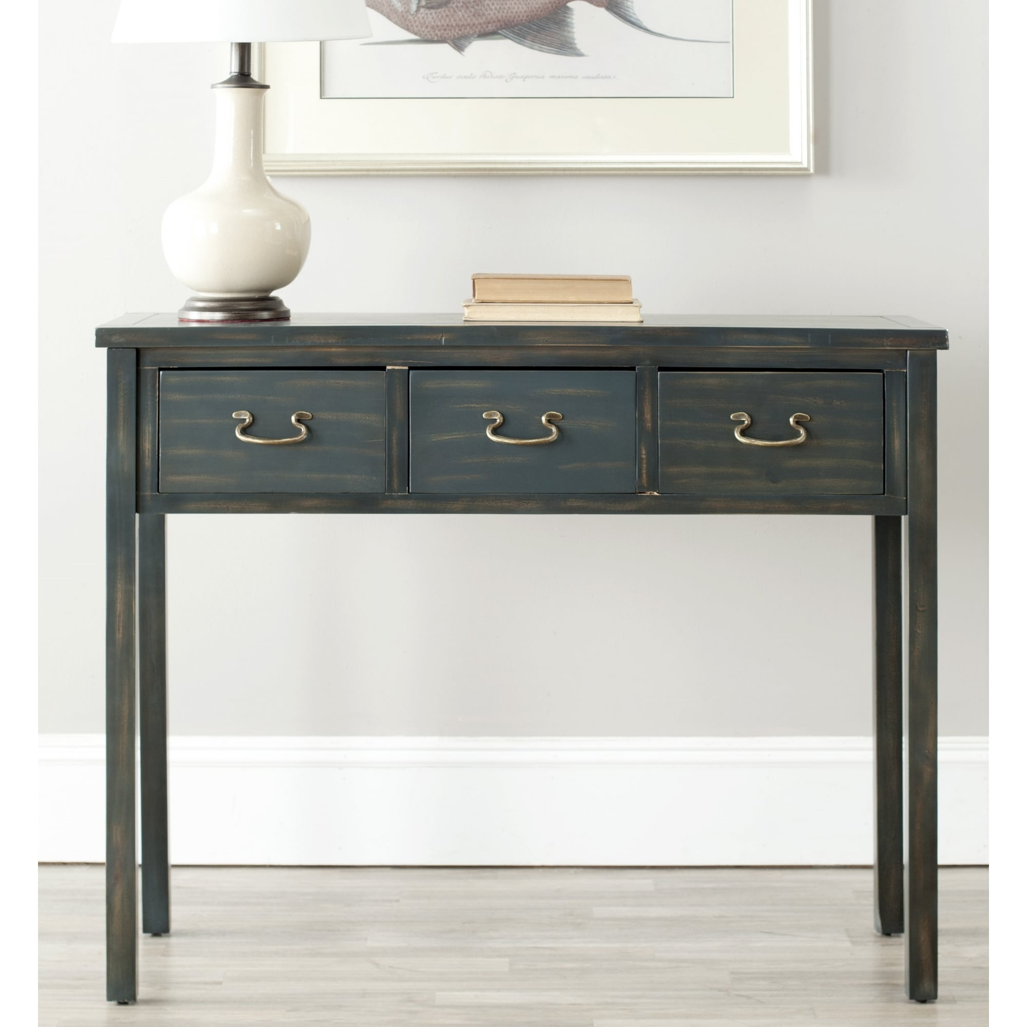 Safavieh Cindy Navy Console Table Overstock Shopping