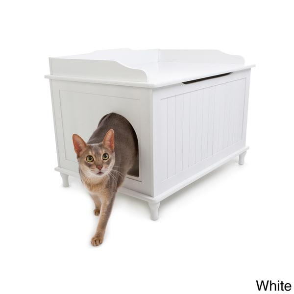 Hide Cat Box: Designer Catbox Hidden Litter Box Enclosure Furniture
