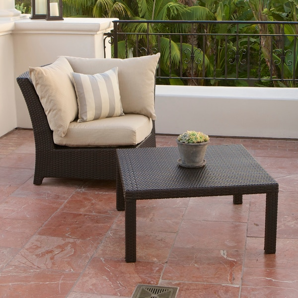 Slate Coffee And End Table Set: RST Brands Slate Corner Section And Coffee Table Set