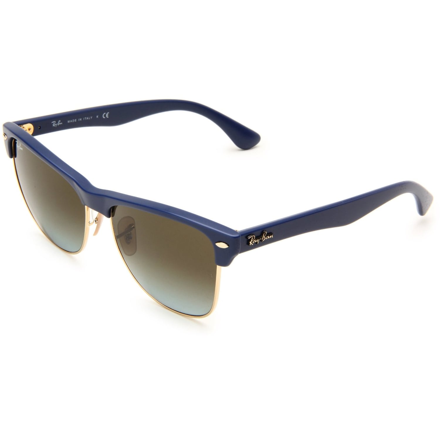 f6b3422b6a3c Ray ban Womens Clubmaster Matte Blue Wayfarer Sunglasses on PopScreen