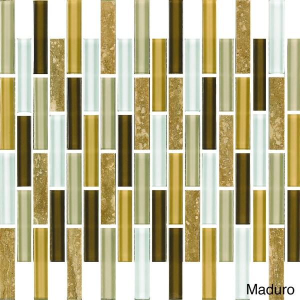 Emrytile Newport 12x12 Inch Sheet Wall Tiles Set Of 10