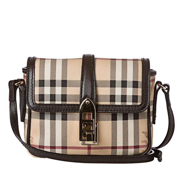 c3f5b55b8db0 Burberry 'Berkeley' Mini Beige Haymarket Crossbody Bag Burberry Designer  Handbags