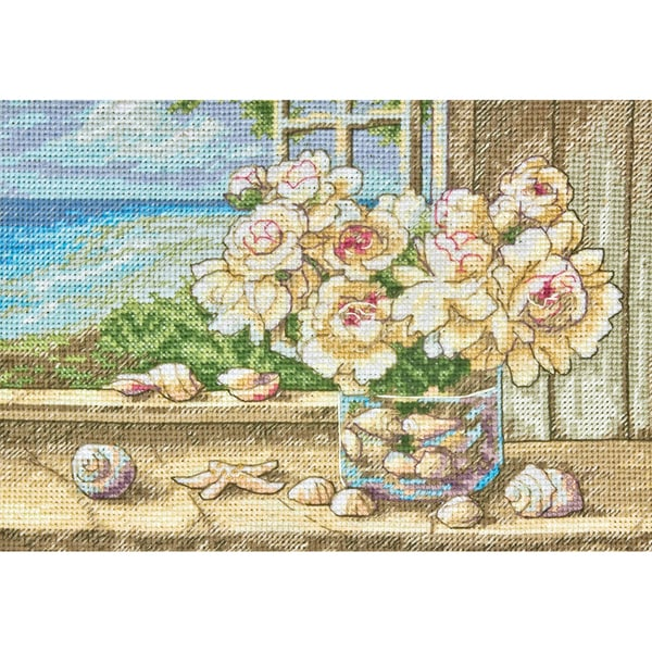 Gold Collection Petite By The Sea Counted Cross Stitch Kit 7
