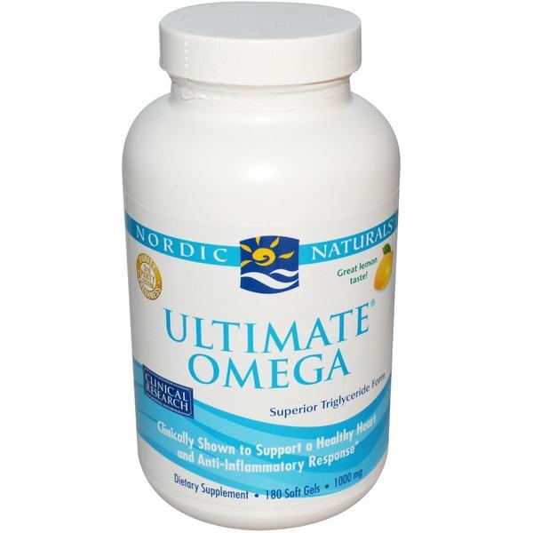 Nordic Naturals Omega  Fish Oil  Mg