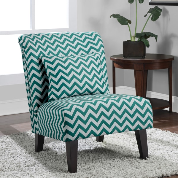 Anna Peacock Chevron Fabric Accent Chair 15084837