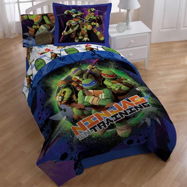 Teenage Mutant Ninja Turtles Stars 8-piece Bed In A Bag