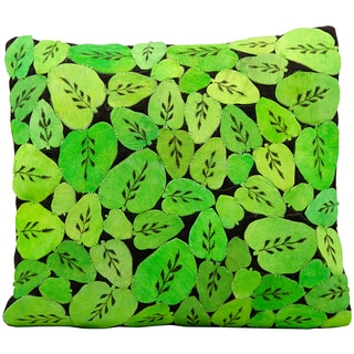 Leather Throw Pillows Overstock Shopping Decorative