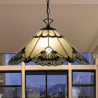 Tiffany Style Warehouse Of Tiffany Courtesan Hanging Lamp 15093188 Overstock Com Shopping Great Deals On Warehouse Of Tiffany Tiffany Style
